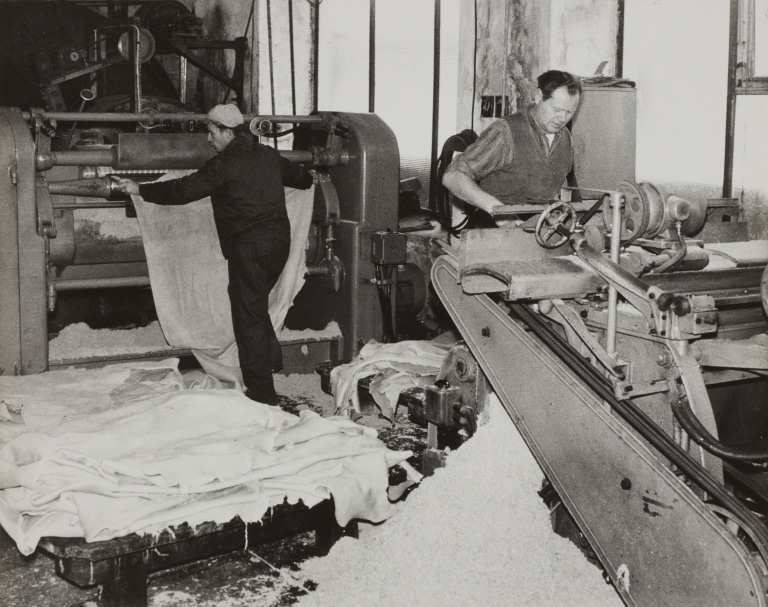 Professionell leather processing in the early days