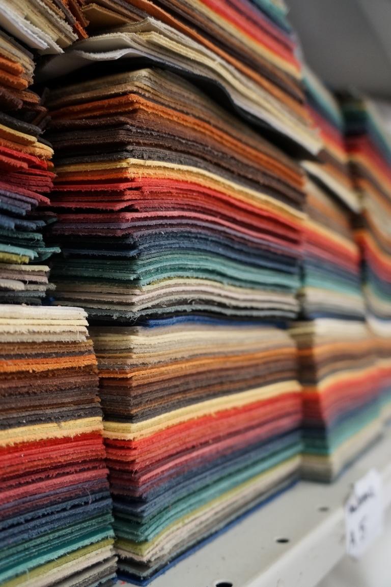 Wollsdorf leather colored patterns