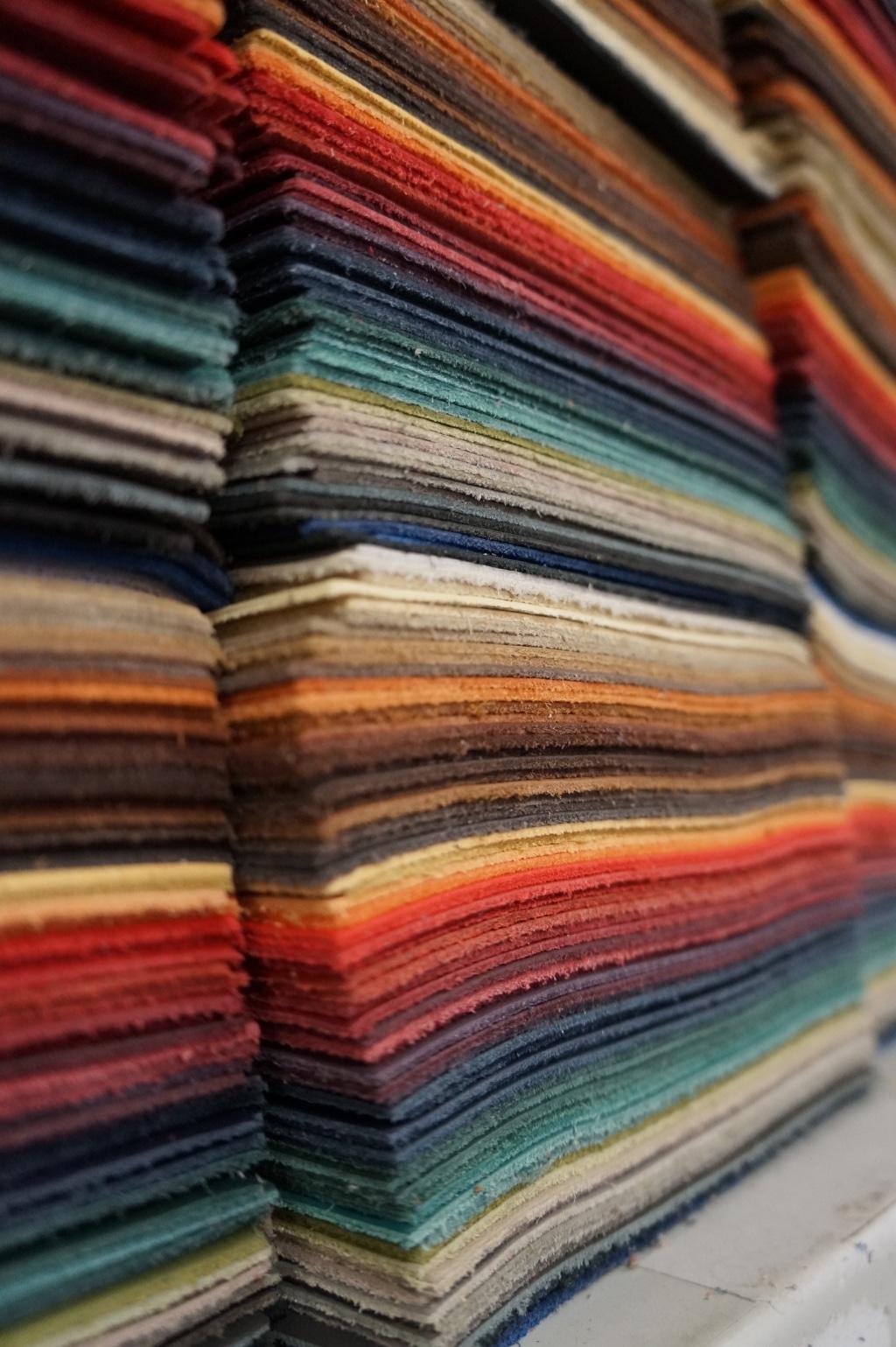 Musterblock farbig