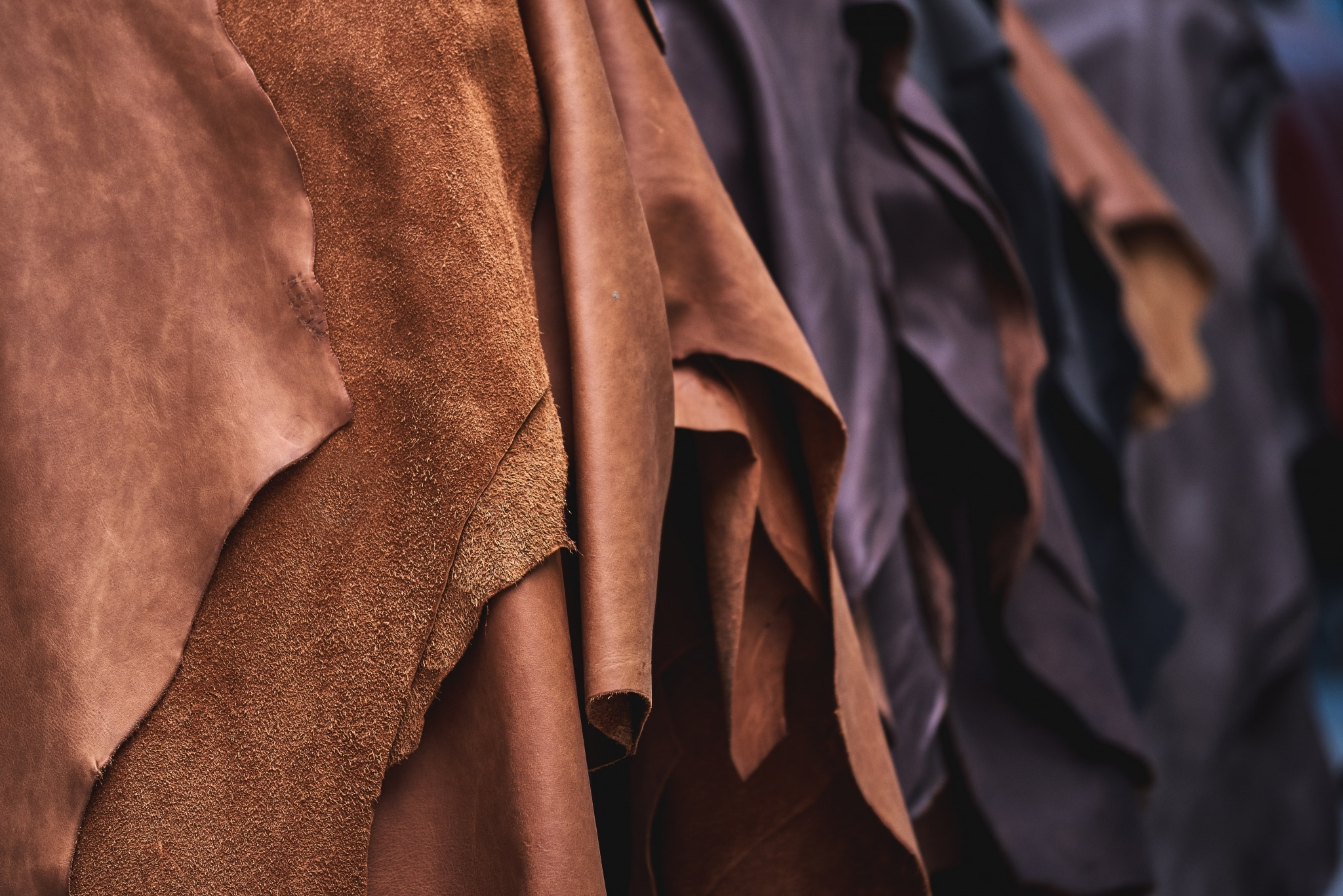 Individual leather for all usage areas by Wollsdorf