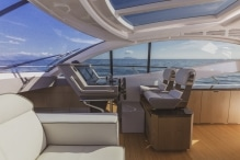 Wollsdorf premium leather for luxury motor yachts