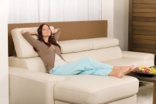 Wollsdorf easy-to-clean leather for modern leather sofas