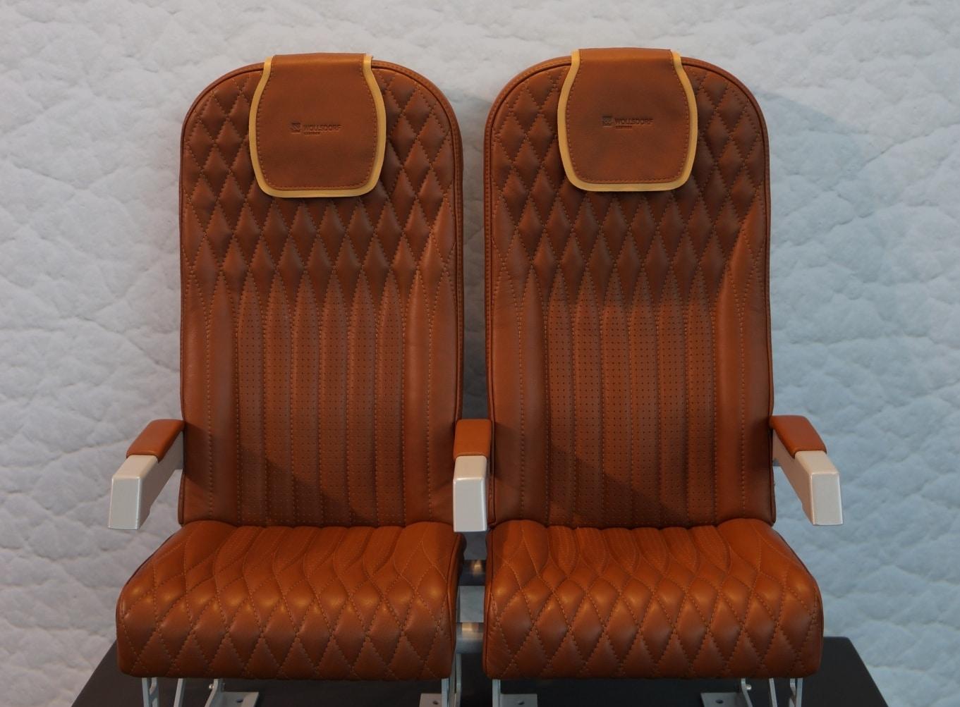 Aircraft seats sewing expertise of Wollsdorf