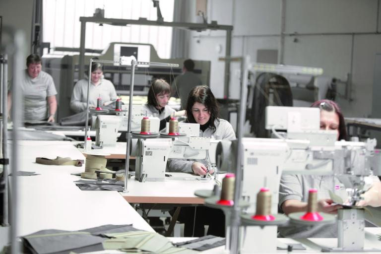 Wollsdorf in-house sewing team
