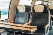 Wollsdorf leather for comfortable railway seating